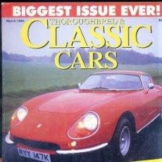 Coches: CLASSIC CARS MAR, 1996 - EXTRA 50 AÑOS DE FERRARI. Lote 28251891