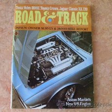 Coches: REVISTA ROAD & TRACK,FEBRERO DE 1970,EN INGLES. Lote 28264488