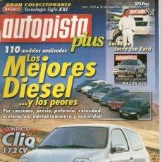 Coches: AUTOPISTA - NUM2107-30 NOV.1999. Lote 28298465