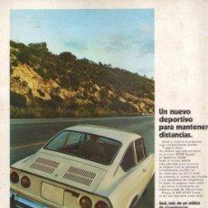 Coches: CUATRORUEDAS 1970: SEAT 850 SPORT; ETC.... Lote 28409298