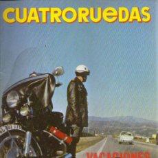 Coches: CUATRORUEDAS 1970: ALFA ROMEO JUNIOR Z; MINI 850; SEAT 600 E; SIMCA 900 Y SIMCA 1000; ETC.... Lote 28409482