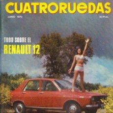 Coches: CUATRORUEDAS 1970: RENAULT 12; SIMCA 1000 GT; ETC.... Lote 28409611