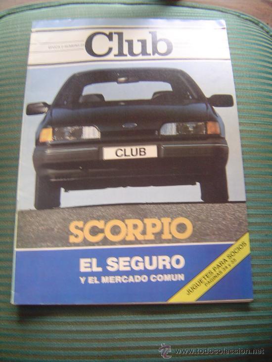 REVISTA CLUB.REIAL AUTOMOVIL CLUB DE CATALUNYA. (Coches y Motocicletas Antiguas y Clásicas - Revistas de Coches)