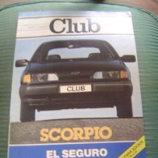 Coches: REVISTA CLUB.REIAL AUTOMOVIL CLUB DE CATALUNYA.. Lote 28664120