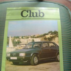 Coches: REVISTA CLUB. REIAL AUTOMOVIL CLUB DE CATALUNYA.. Lote 28664201