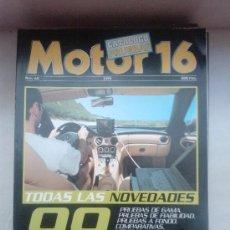 Coches: MOTOR 16 ESPECIAL PRUEBAS 1999 170 COCHES ANALIZADOS. Lote 28888320