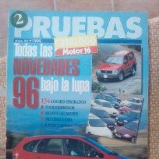 Coches: MOTOR 16 ESPECIAL PRUEBAS 1996. Lote 28985568