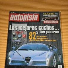 Coches: AUTOPISTA Nº 1971 - ABR 1997 - SUBARU IMPREZA 2.0 GT TURBO 4WD / RALLYE CATALUÑA. Lote 9869672