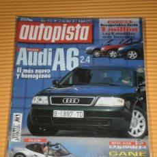 Carros: AUTOPISTA Nº 1976 - MAY 1997 - AUDI A6 2.4 / BMW Z3 / GP ESPAÑA FORMULA 1. Lote 9869762