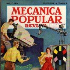 Coches: REVISTA MECÁNICA POPULAR - MARZO 1954. Lote 29111408