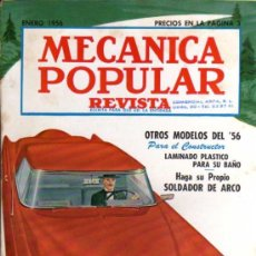 Coches: REVISTA MECÁNICA POPULAR - ENERO 1956. Lote 29111784