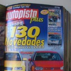 Coches: AUTOPISTA 2110 AÑO 1999.MERCEDES E320 CDI.GOLF V6 4MOTION VS AUDI S3. Lote 29263097