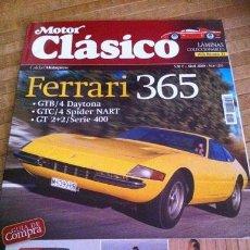 Coches: MOTOR CLASICO N 255, ESPECIAL FERRARI 365,. Lote 29266295