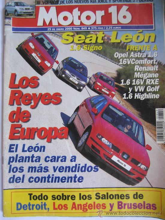 MOTOR 16 Nº849 ENERO 2000 (Coches y Motocicletas Antiguas y Clásicas - Revistas de Coches)