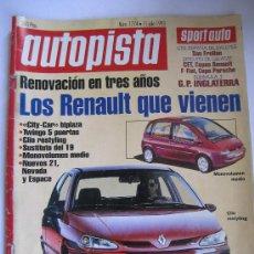 Coches: AUTOPISTA Nº1774 AÑO 1993. Lote 29266630