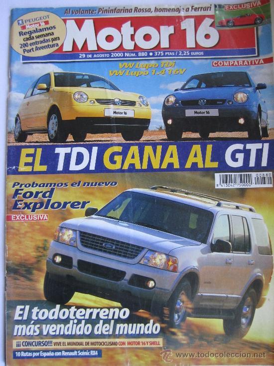 MOTOR 16 Nº880 1999 (Coches y Motocicletas Antiguas y Clásicas - Revistas de Coches)