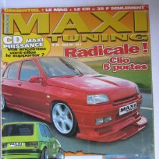 Coches: MAXI TUNNING FRANCIA Nº36 1999. Lote 29266737
