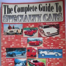 Coches: THE COMPLETE GUIDE TO SPECIALITY CARS 1992 U.S.A REPLICAS.. Lote 29266802
