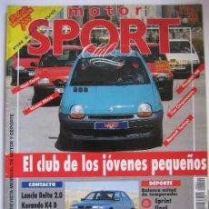 Coches: MOTOR SPORT SEPTIEMBRE 1992. Lote 29267559