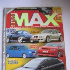 Coches: AUTO MAX AÑO 99-00. Lote 29267582