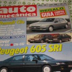 Coches: QUEX COCHES AUTOMOVIL - REVISTA AUTO MECANICA Nº 244 RENAULT CLIO. Lote 29295191