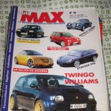 Coches: QUEX 1 EURO COCHES AUTOMOVIL - REVISTA AUTO MAX TUNING Nº 18 RENAULT TWINGO WILLIAMS. Lote 29322281