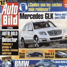 Coches: REVISTA AUTO BILD Nº 112 AÑO 2007. COMPARATIVA: BMW 320D TOURING Y MERCEDES C 220 CDI FAMILIAR. . Lote 29438374