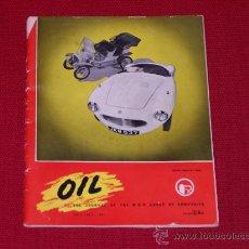 Coches: REVISTA INGLESA AUTOMOVILES OIL 1954. Lote 29635970