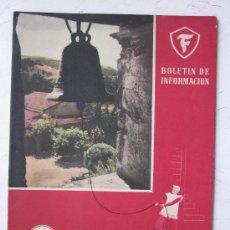 Coches: REVISTA FIRESTONE - HISPANIA - 1952 - Nº 79. Lote 29695163