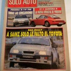 Coches: SOLO AUTO 45 DICIEMBRE 1988. Lote 30079466