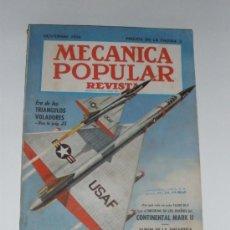 Coches: MECÁNICA POPULAR - NOVIEMBRE 1956. Lote 48624950
