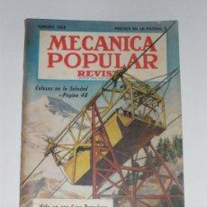 Coches: MECÁNICA POPULAR - FEBRERO 1954. Lote 30174786