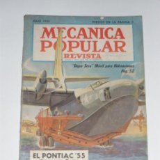 Coches: MECÁNICA POPULAR - JULIO 1955. Lote 30174794