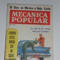 Coches: MECÁNICA POPULAR - JULIO 1961. Lote 30175047