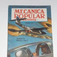 Coches: MECÁNICA POPULAR - FEBRERO 1956. Lote 48624966