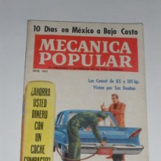 Coches: MECÁNICA POPULAR - JULIO 1961. Lote 30175208