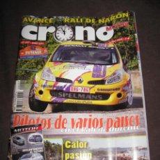Coches: QUEX - COCHES AUTOMOVIL RALLYE FORMULA 1 - REVISTA CRONO MOTOR Nº 237. Lote 30242795