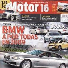 Coches: REVISTA MOTOR 16 Nº 1316 AÑO 2008. COMPARATIVA: FORD FIESTA 1.4 Y FORD FIESTA 1.4 TDCI. . Lote 30273765