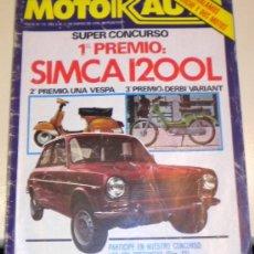 Coches: MOTORAUTO Nº 13 DE 1978. Lote 30280811