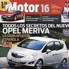 Coches: REVISTA MOTOR 16 Nº 1361 AÑO 2009. PRUEBA: VOLVO XC60 2.4D DRIVE. CITROEN C5 3.0 V6 HDI 240 CV. PEU. Lote 143145882