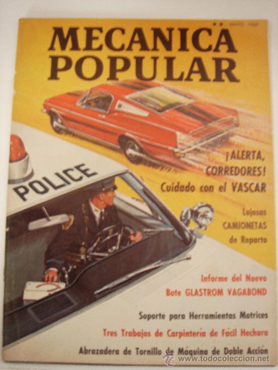 MECANICA POPULAR MAYO 1969 (Coches y Motocicletas Antiguas y Clásicas - Revistas de Coches)