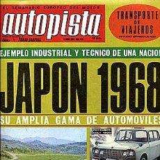 Auto: AUTOPISTA 478 06 ABRIL 1968. Lote 30350832