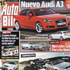 Autos - REVISTA AUTO BILD Nº 124 AÑO 2008. COMPARATIVA: MRCEDES SLK 350 Y PORSCHE BOXSTER S. AUDI A3 CABRIO - 30493641