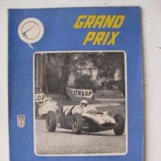 Coches: REVISTA GRAND PRIX - DICIEMBRE DE 1960 - AÑO 1, Nº 9. Lote 40963700