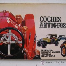 Coches: COCHES ANTIGUOS, ALEMANIA, ESTADOS UNIDOS, FRANCIA E INGLATERRA. PUBLICACIONES PLAN. AÑO 1970. Lote 30771010