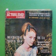 Coches: LA ACTUALIDAD ESPAÑOLA Nº 549 12 JULIO 1962DI STEFANO - TINTIN Nº 32 - SAN FERMINES 62. Lote 30805370