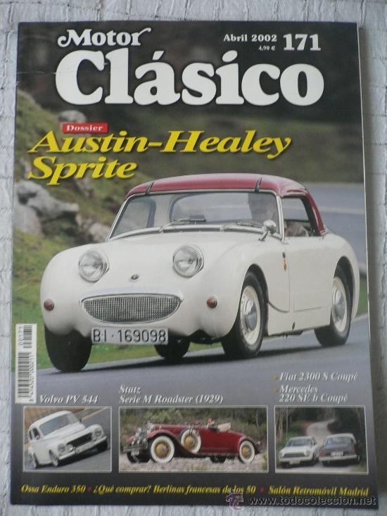 MOTOR CLASICO Nº 171, ABRIL DE 2002 (Coches y Motocicletas Antiguas y Clásicas - Revistas de Coches)