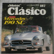 Coches: MOTOR CLASICO Nº 187, AGOSTO DE 2003. Lote 31104537