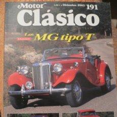 Coches: MOTOR CLASICO Nº 191, DICIEMBRE DE 2003. Lote 31114672