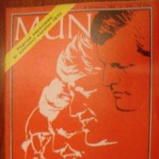 Coches: MUNDO Nº1543 AÑO 1969 EL AUTOMOVIL ESPAÑOL 1960.. HA MUERTO EL CREADOR DE UNA DINASTIA . Lote 31170766